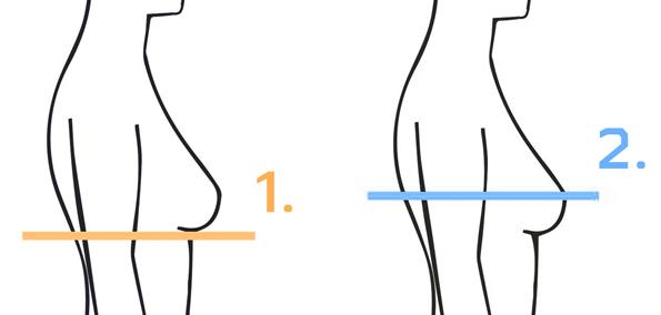 Liemenėlės dydžių skaičiuoklė