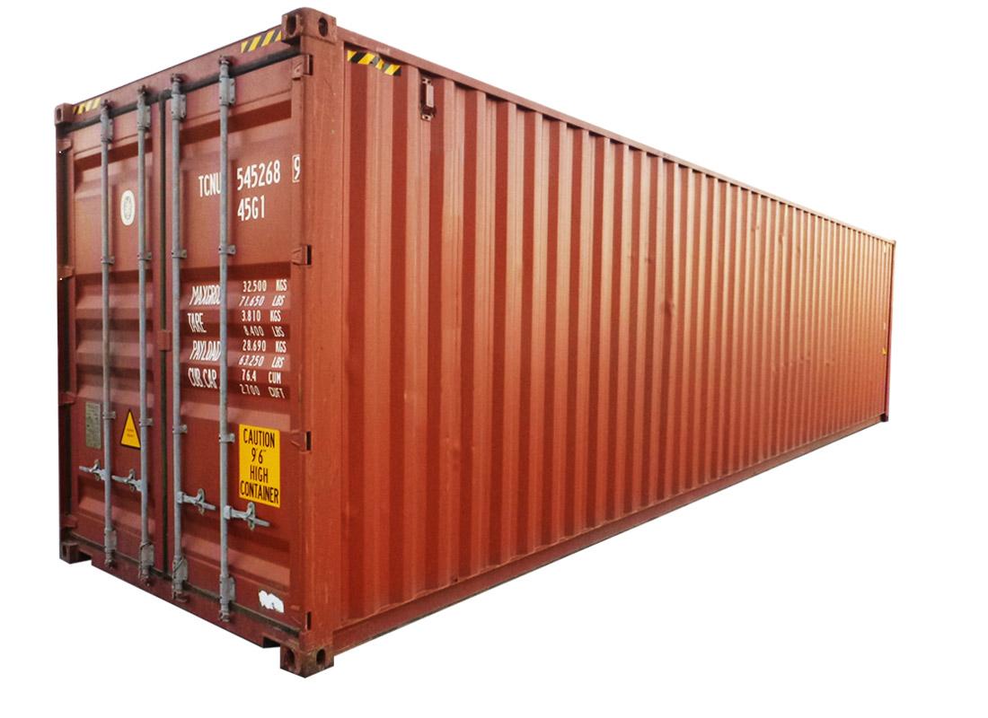 40 Pėdų jūrinis konteineris